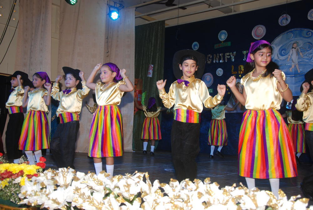 Portuguese dance by our primary students