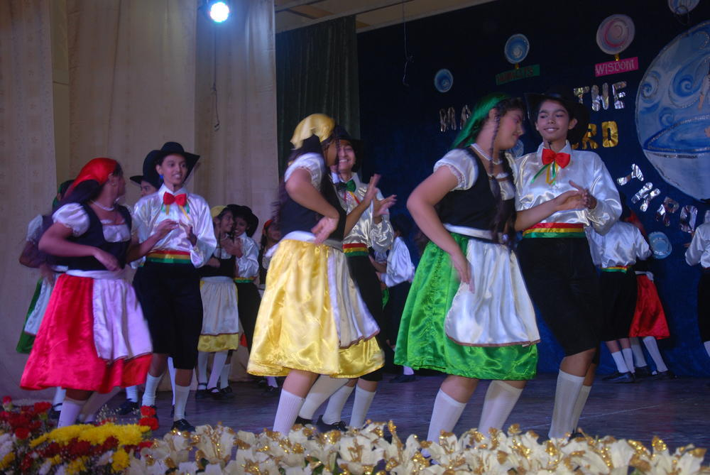German dance by our secondary students
