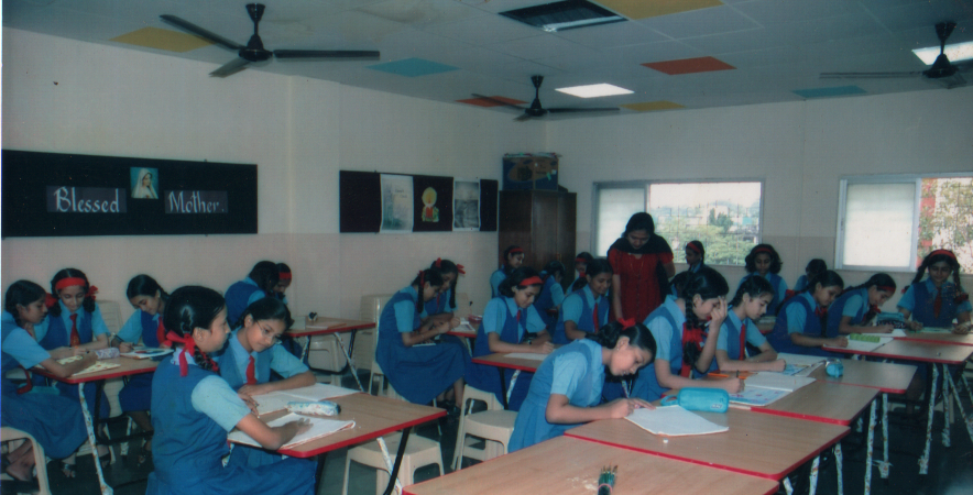 Classroom of Mary Immaculate Girls' High School, Kalina